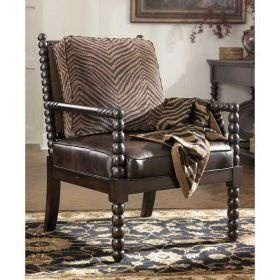 Key Town Truffle Accent Chair $228