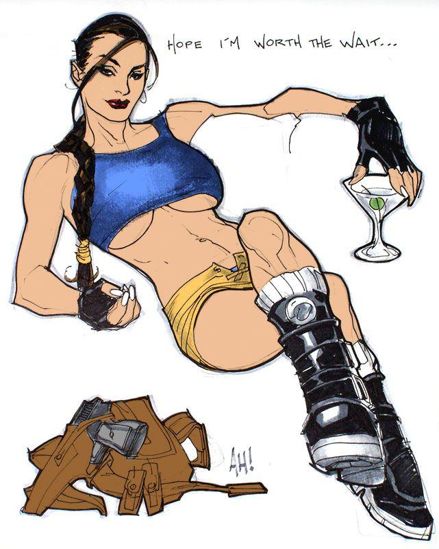 Lara croft fan fic adulto