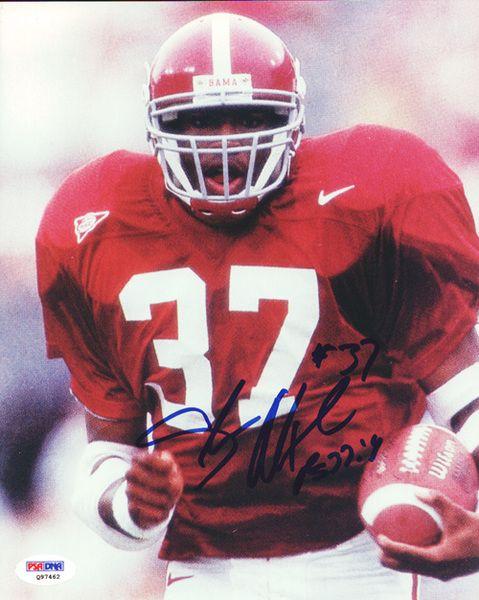 Shaun Alexander Autographed 8x10 Photo Alabama PSA/DNA #Q97462