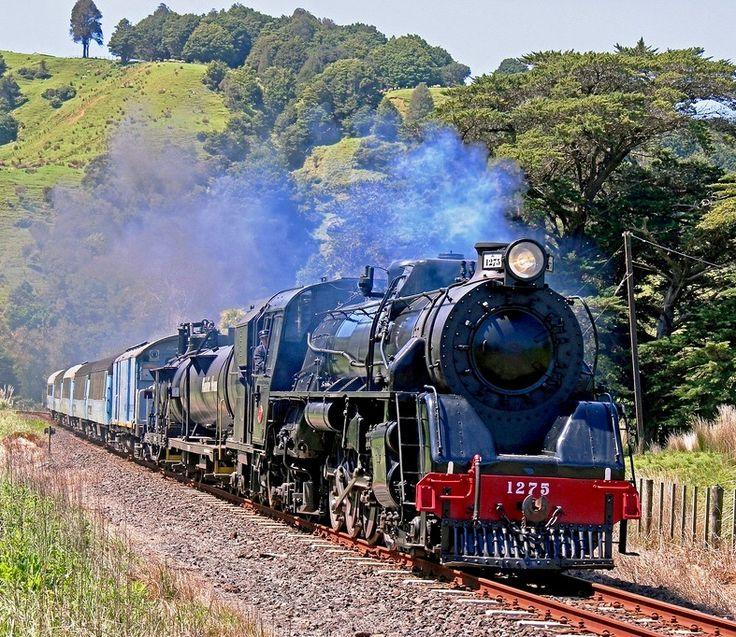Class A Locomotive NZR No 419 At The Petone Railway Workshops