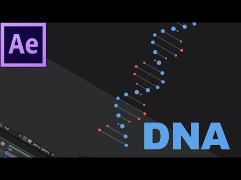 30. After Effects: DNA Dupla Hélice Giratório - YouTube