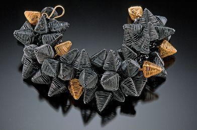 Bracelet | Kathy Frey. 'Porcupine'