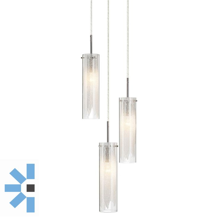 Krysalis 3 Light [NLI83066] - $742.90incl GST : The Lighting Centre, Online Lighting Store