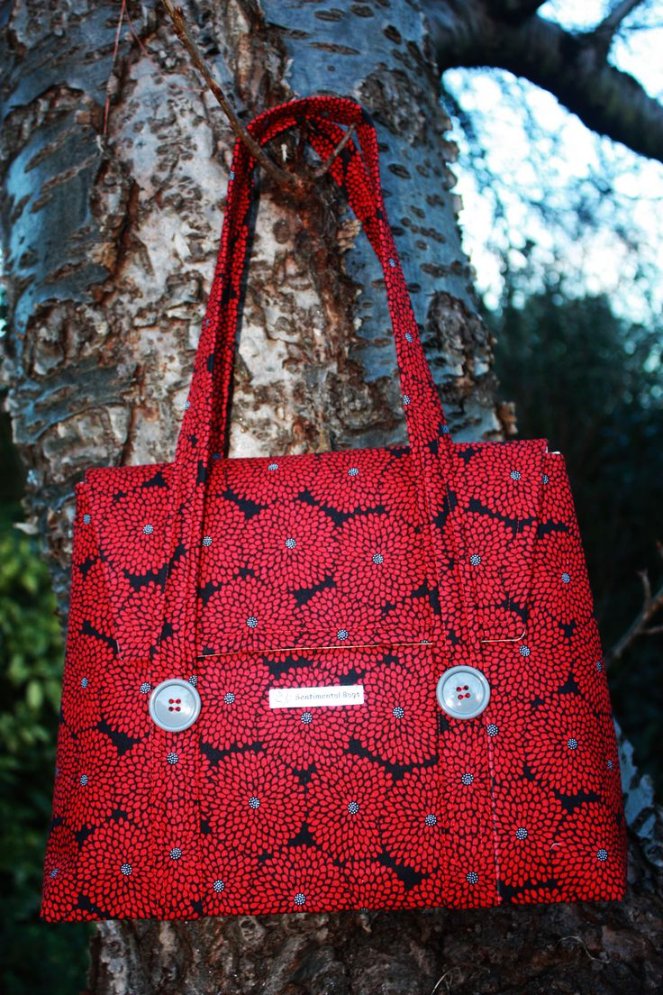"""This """"Allyson"""" bag comes with a flap and magnetic fastening, two interior pockets and a key clasp. It is sized 310mm x 260mm approx. Price £40 (+postage £6)"""