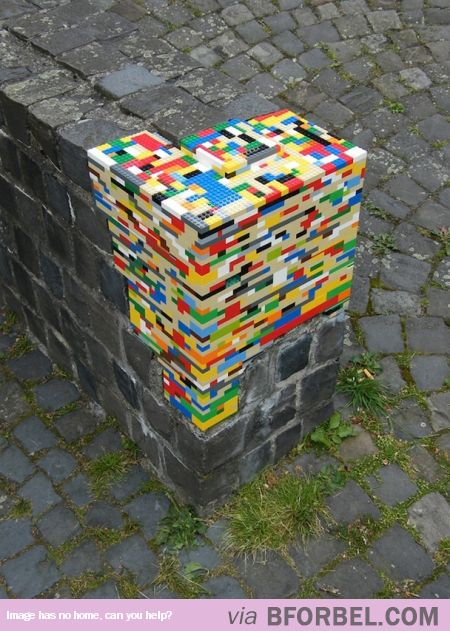 Re-Building The World With Legos…