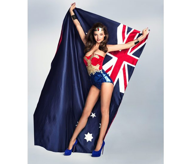 Why yes, dressing up as Wonder Woman will make us like you more, Miranda Kerr. You're so kind! ----future film star or what? : Miranda Kerr, Film Stars, Wonder Women, Dresses Up, Future Film, Wonder Woman