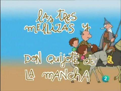 Biografía animada de Cervantes para niñ@s ~ P. C. El Quijote y Cervantes con las TIC