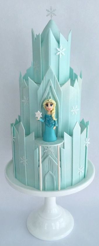 Awesome cake, my youngest daughter would love this!