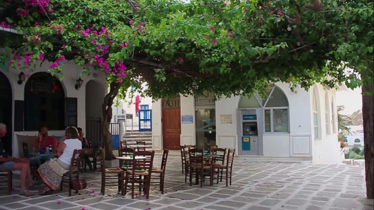 Calm and Serene, the squares of Ios Island in Greece! Visit www.islandhouse.gr
