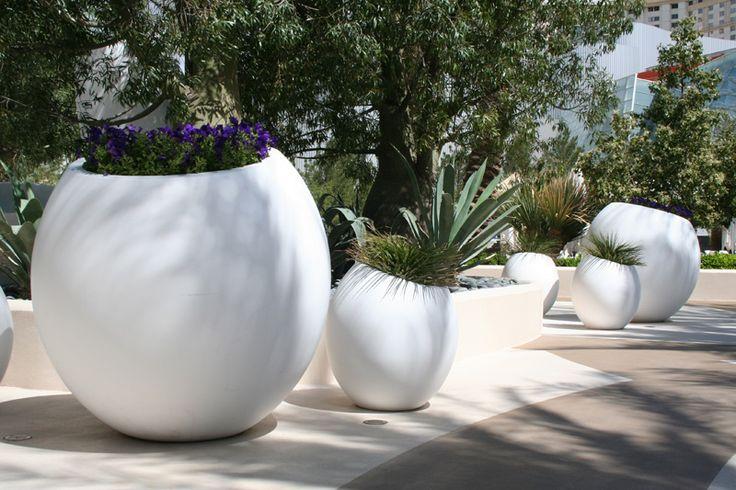 Old Town Fiberglass Pots Aria By James Corner Field Operations Garden Pots I M Dottie For
