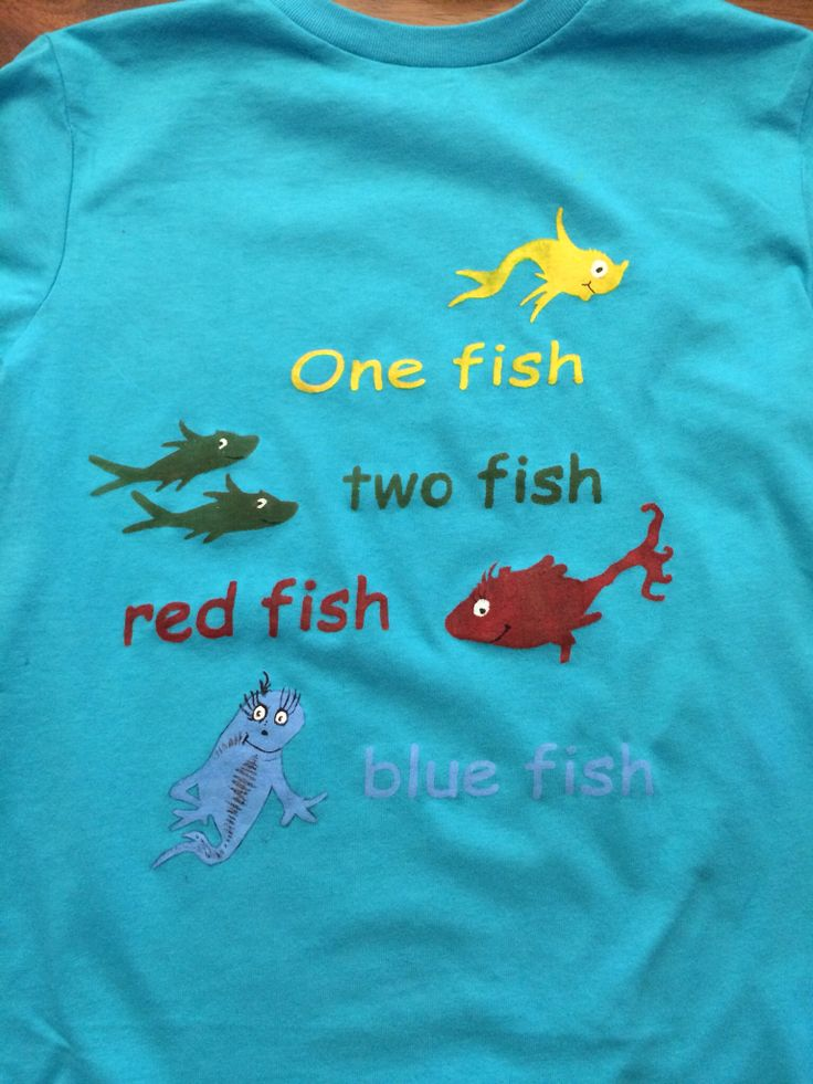 One fish two fish red fish blue fish created using a for One fish two fish red fish blue fish