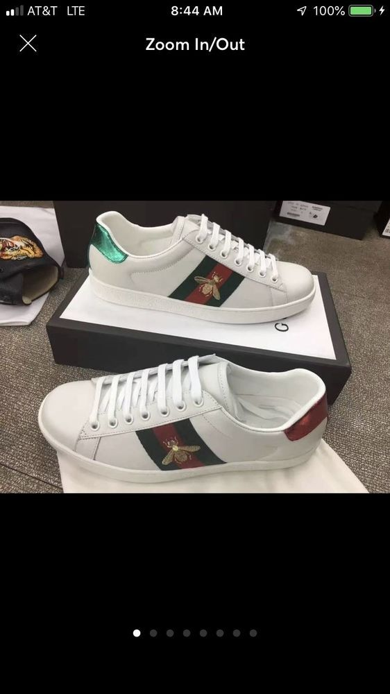 25995b40cba NEW!! Gucci Ace Embroidered Sneaker with Bee Size 9 Men  fashion  clothing