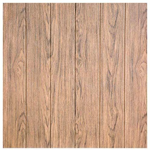 Arthome 5 Pack Brown Wood Decorative Foam Wall Panels Pee Https Www Amazon Com Dp B078561n7h Ref Cm Sw R Pi Dp U X Wood Planks Wood Plank Walls Faux Wood