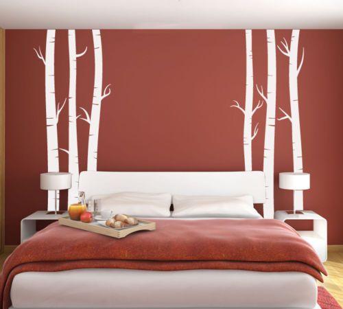 Wall Art Tree T5 LRG MIRR Birch Vinyl Decor Decal Sticker Mural Decoration    90x70inch #Affiliate