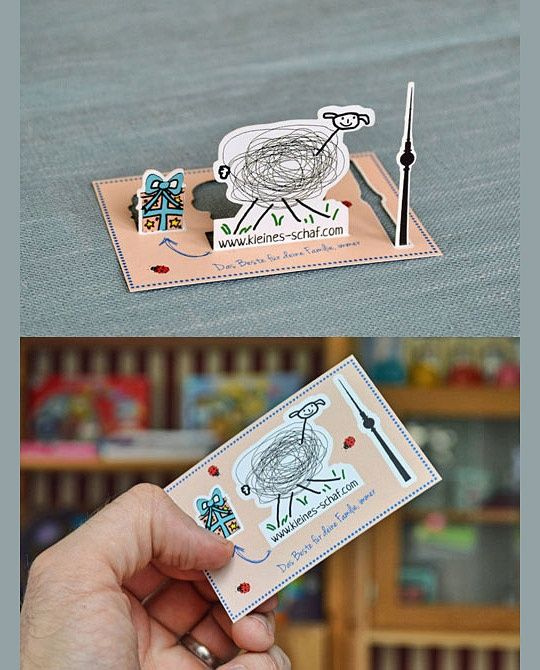 3D Business Card by Guillaume