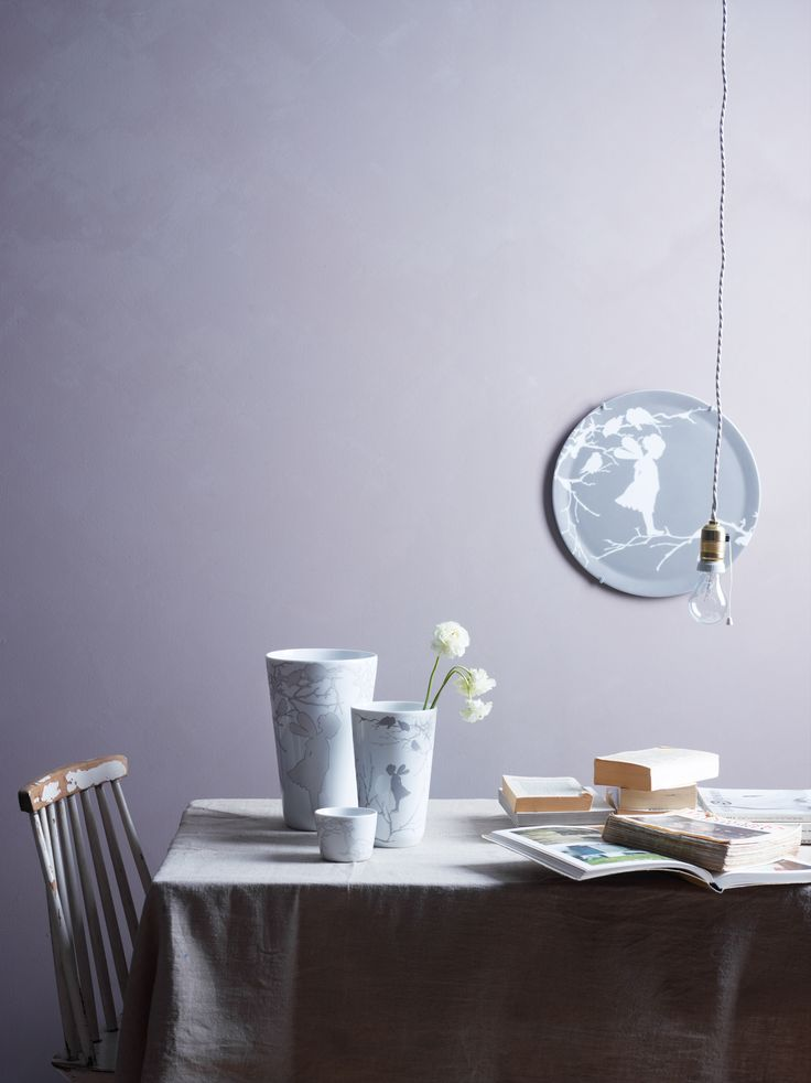 Alv Art Plate and Vases from Wik & Walsøe  |  Photo: Siren Lauvdal  |  Styling: KråkvikD'Orazio