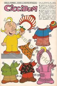 bambole di carta ciccibum on pinterest - Cerca con Google