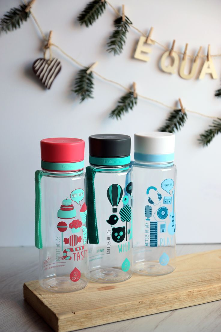 Our mission is to make drinking water and hydration something that brings you joy and overall well being, so we decided to create Bottles of Joy, which include different joyful moments from our everyday lives and on the bottle's graphics.