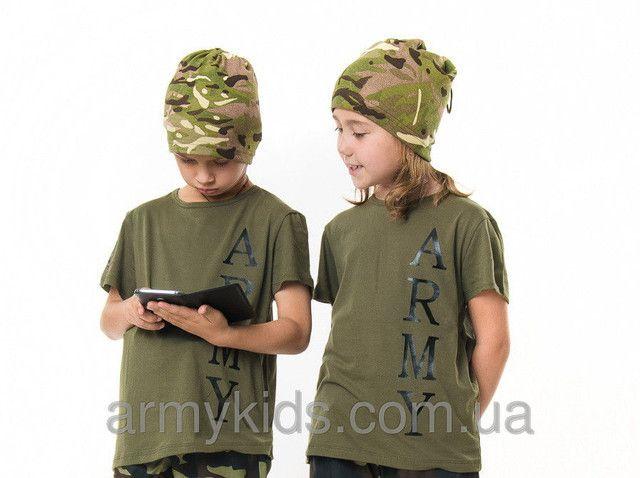 ФУТБОЛКИ  детские камуфляжные