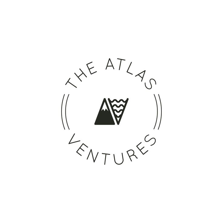 "A + V clean lettermark for Atlas Ventures, a lifestyle brand founded by two Olympic swimmers. The logo explores the theme of facing a challenge, whether in sport or in life: letter ""A"" is stylized to look like a mountain peak, while ""V"" symbolizes water and waves. Designed by LET'S PANDA, Vancouver. #letspanda #logo"