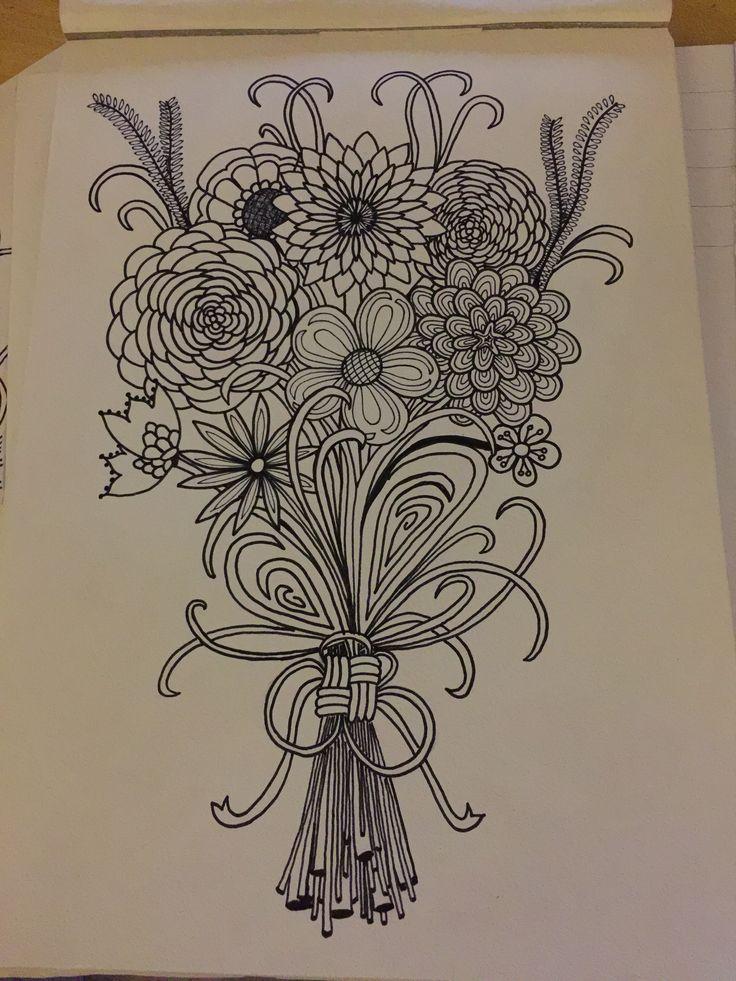 Flowers, doodle