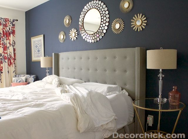 We would love to have blogger/sponsor @Decorchick design our bedroom!