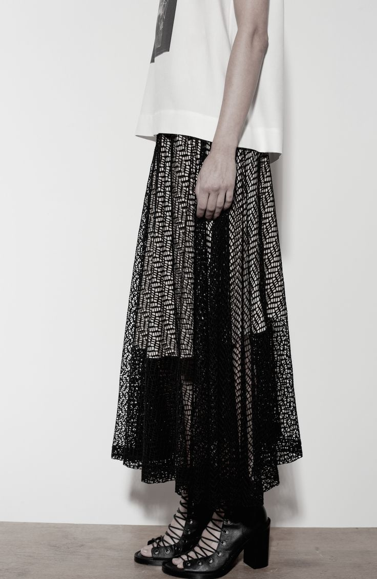 SS14 Lace Skirt