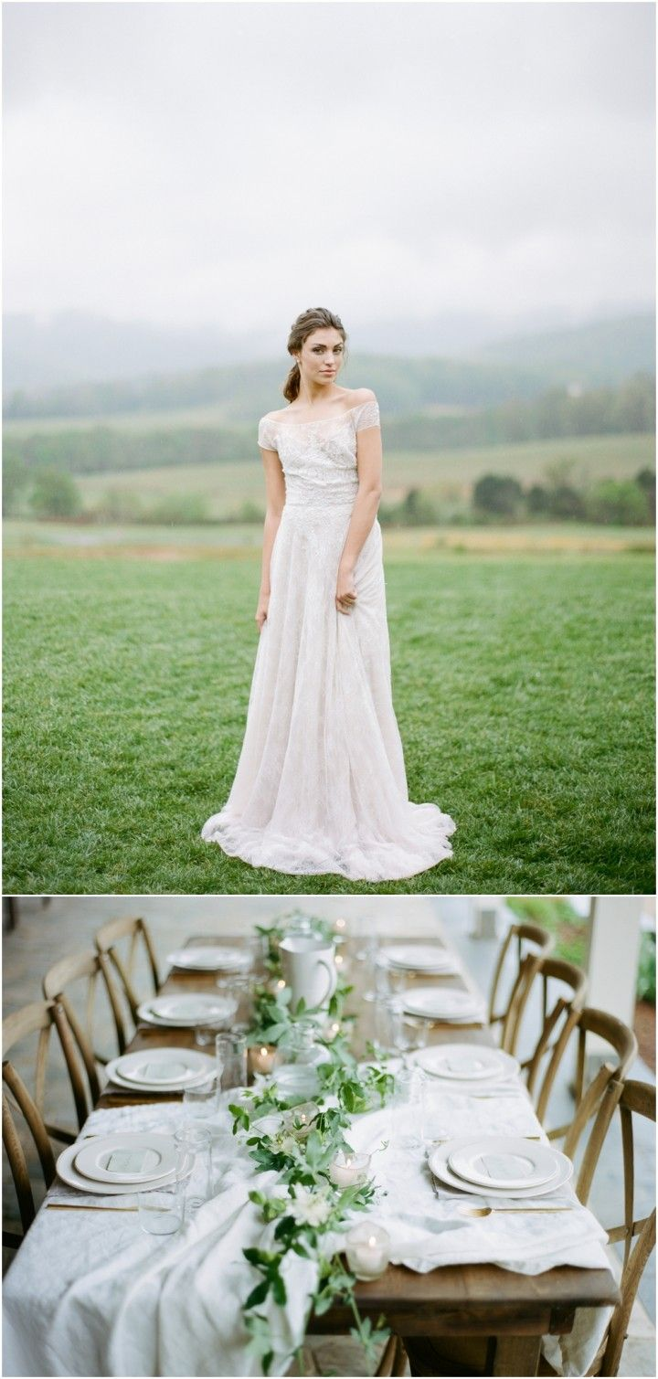Harbes farm wedding dress