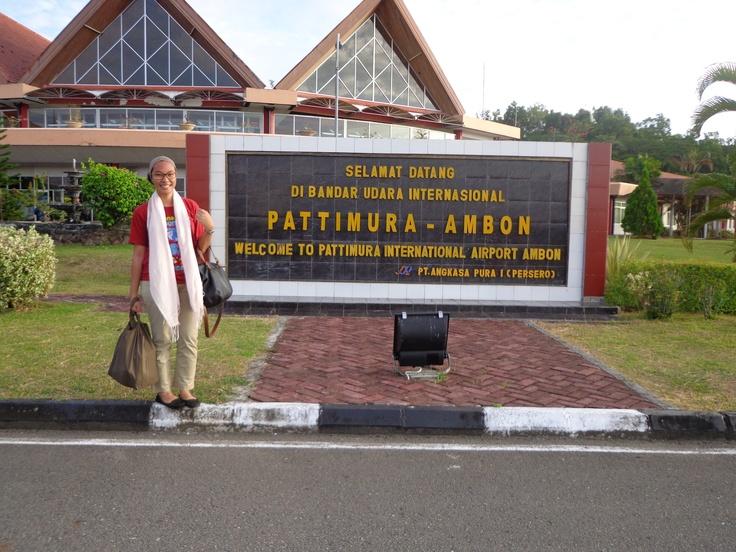Bandara Pattimura, Ambon - 1 April 2013