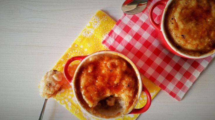Gebakken rijstpudding met saffraan en amandelen - Kitchen-and-more.nl