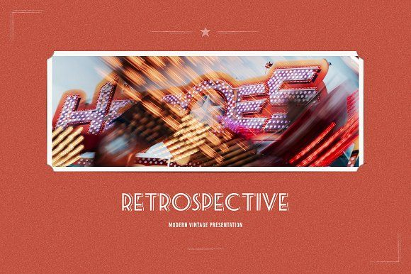 Retrospective Keynote Template by ReworkMedia on @creativemarket
