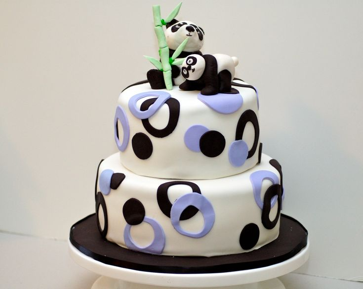 panda bear cake template - gummi bear cake ideas and designs