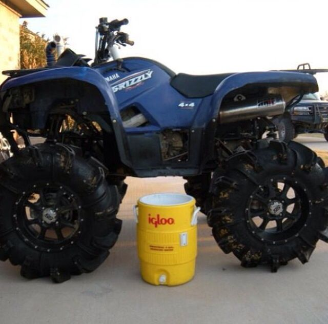 47 best images about 4 wheelers on pinterest fun for Yamaha grizzly 1000cc