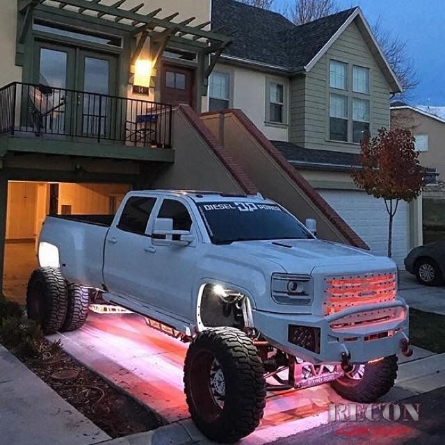 #GMC #Denali #Dually #Modified #Lifted w/ aftermarket suspension