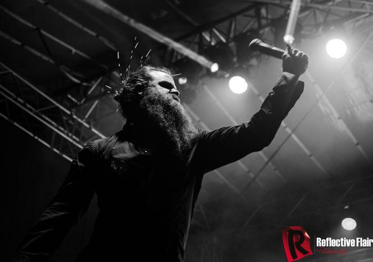 Photo of Kobus De Kock - Lead singer of the band called Black Cat Bones
