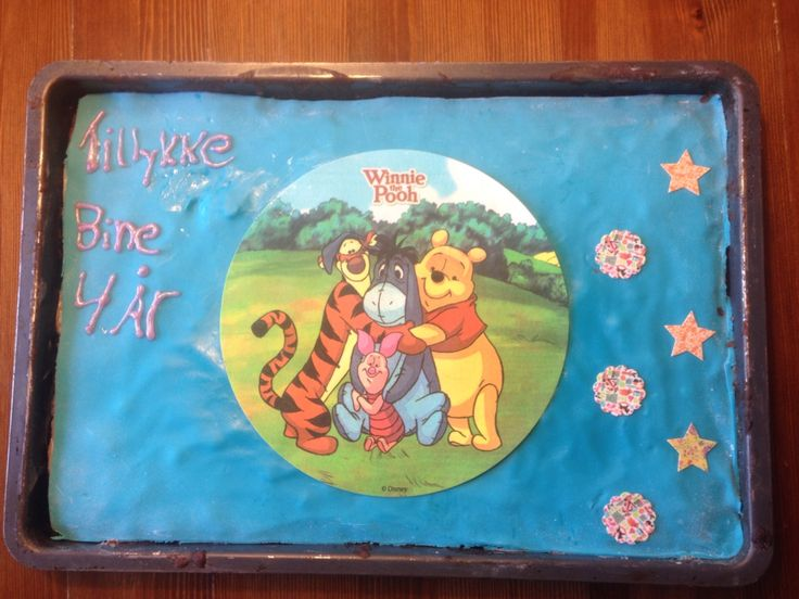 Fødselsdagskage til min niece☀️
