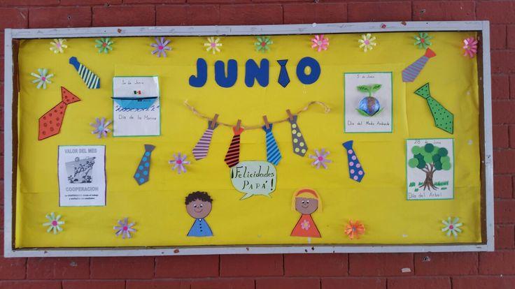 Periódico mural de Junio