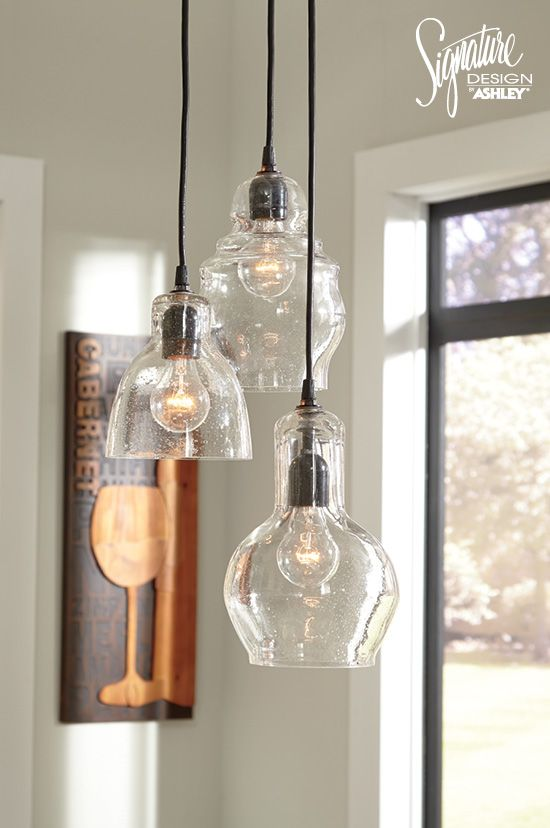 Upgrade your style in a snap with oh so lovely adelphia pendant lamp set