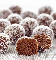 Almond Joy Protein Balls Recipe - RecipeChart.com