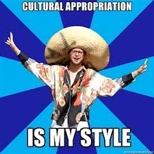White privilege means you never have to explain why cultural appropriation is a bad thing.