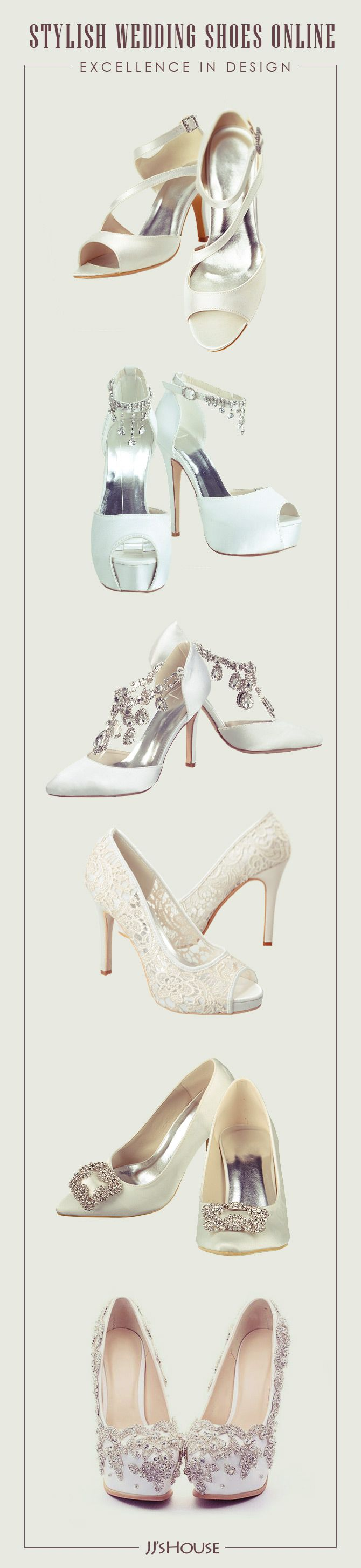 Stylish Wedding Shoes Online   Excellence in Design! #weddingshoes
