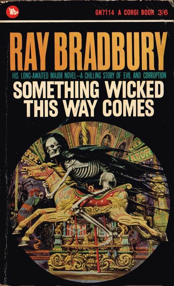 Ray Bradbury: Something Wicked This Way Comes (Corgi 1965) Josh Kirby