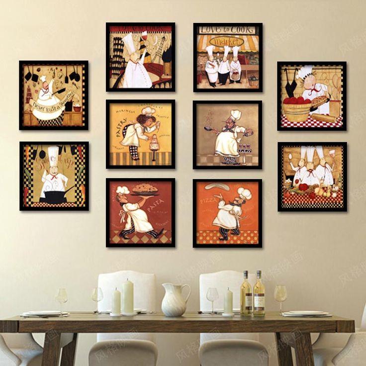 Aliexpress Com Buy Kitchen Decor Food Quote Canvas: 25+ Best Ideas About Chef Kitchen Decor On Pinterest