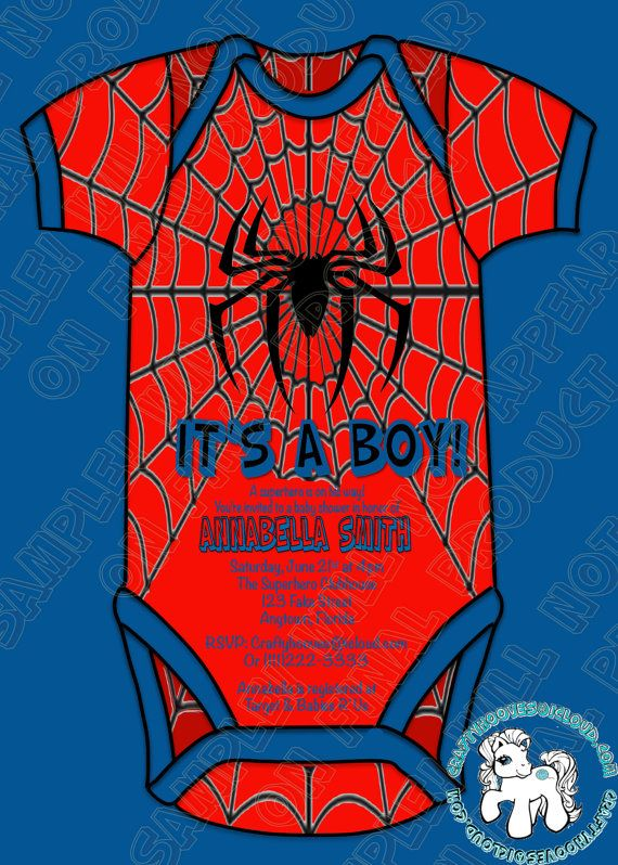 Superhero Spiderman Baby Shower It S A Boy Party