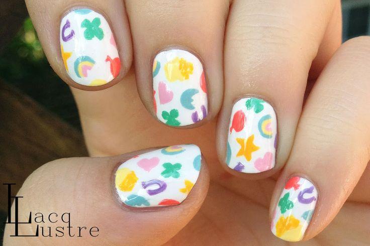 LacqLustre Lucky Charms #nail #nails #nailart