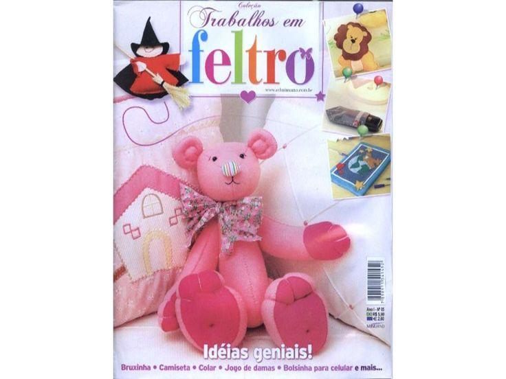 Trabalhos em feltro.n5.1 by rose via slideshare