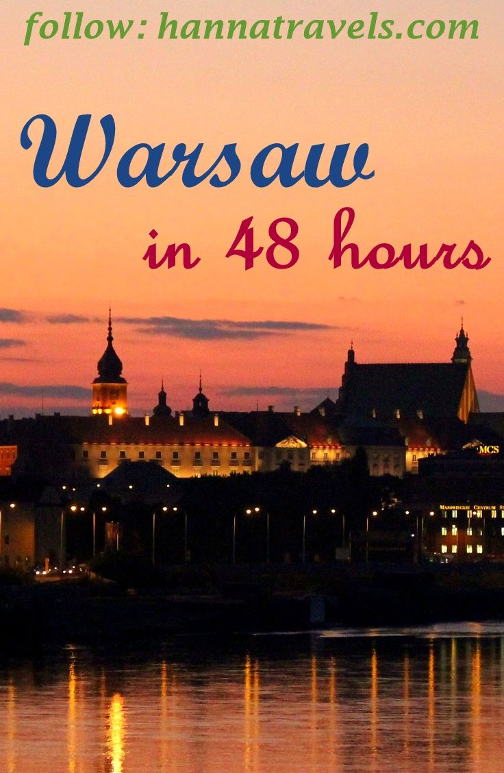 How to visit Warsaw in 48 hours only? Tips and inspiration provided + video :)