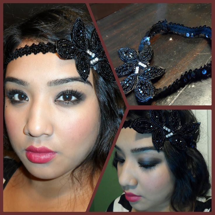 1920's Flapper Tutorial + DIY Vintage inspired headband