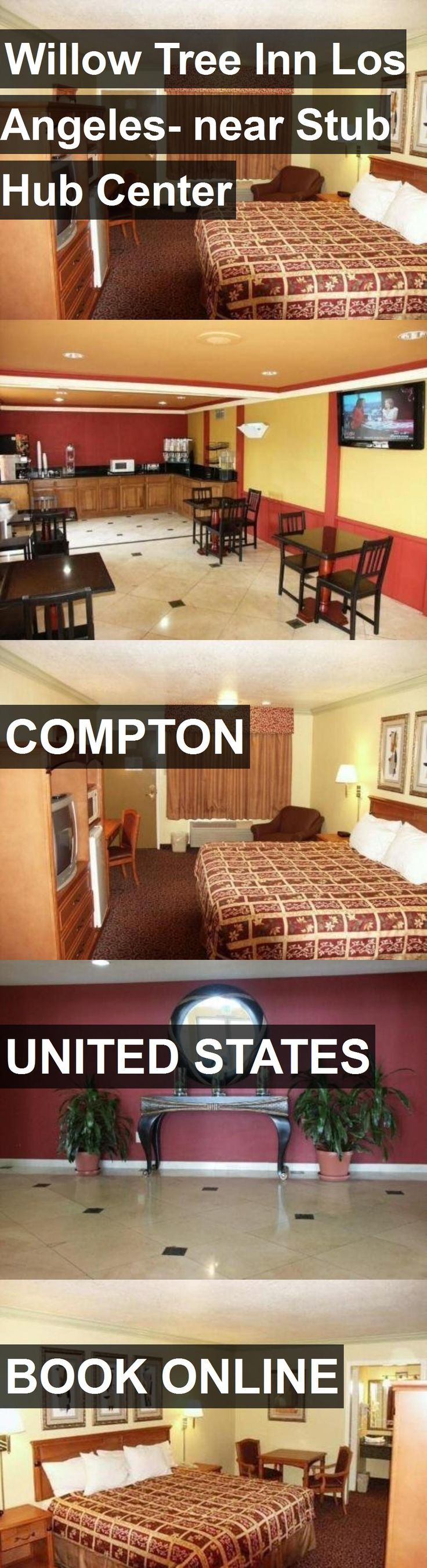 Hotel Willow Tree Inn Los Angeles- near Stub Hub Center in Compton, United States. For more information, photos, reviews and best prices please follow the link. #UnitedStates #Compton #travel #vacation #hotel