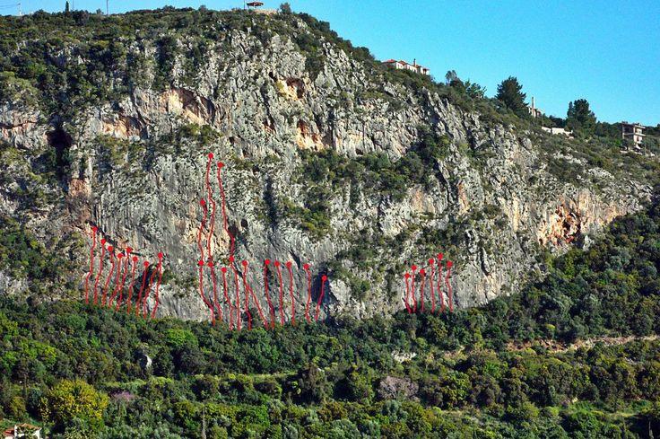 """Kalamitsi climbing park"" Kardamili , W.Mani , Greece"
